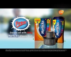 Commercial video for Horlicks