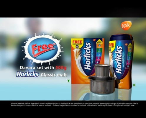 Commercial video for Horlicks